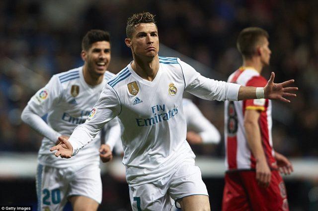 Четири гола на Роналдо  Барса се оддалечува и од Атлетико