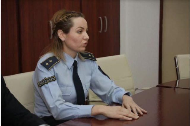 Полицајката од инцидентот со функционерот на ДУИ даде исказ во Обвинителство