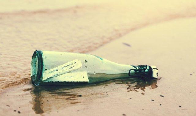 Пронајдено шише со порака стара 132 години