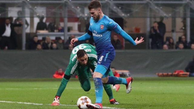 """Арсенал подобар од Милан на """"Сан Сиро"""""""