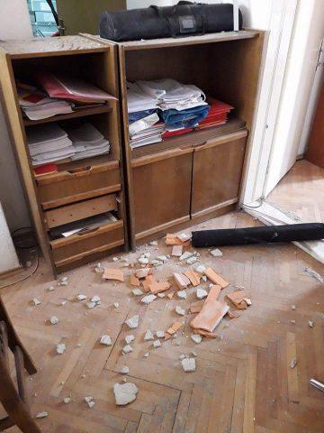 """Мерко наредил уривање на ѕид во штабот на """"Алијанса за Албанците"""""""