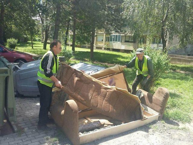 Се собира кабаст отпад во Усје, Пинтија и Стаклара-Каменик