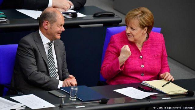 Меркел ја претстави политиката на нејзината влада, повторно го бранеше договорот со Иран