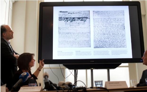 Холандски музеј објави две скриени страници од дневникот на Ана Франк