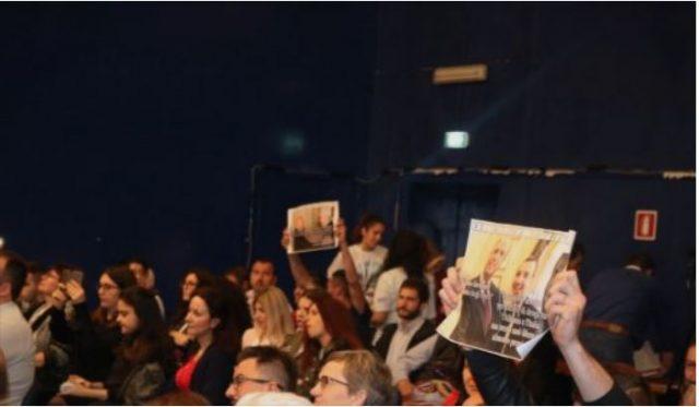 Инцидент на промоција на книгата на Еди Рама во Италија