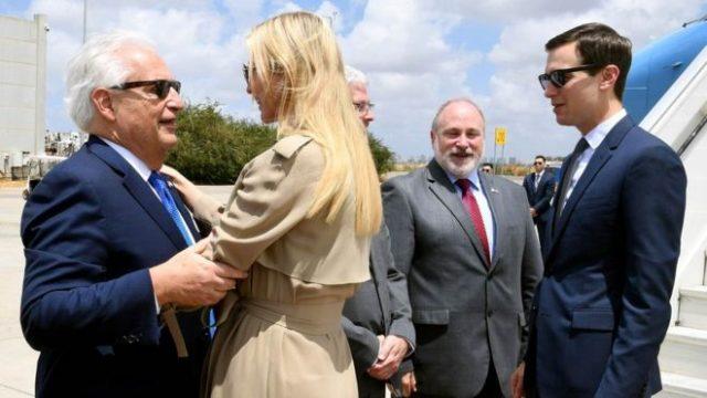 Американската делегација пристигна во Израел на отворањето на амбасадата во Ерусалим