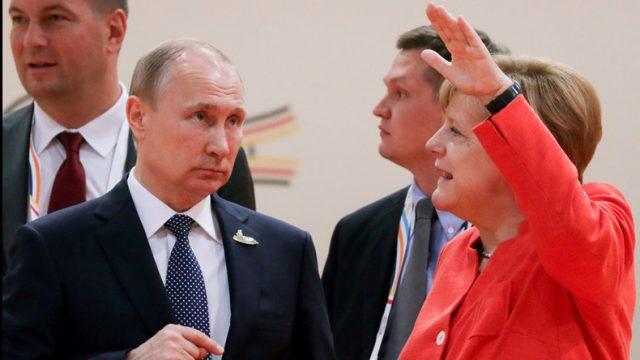 Меркел и Путин ја повторија поддршката за нуклеарниот договор со Иран