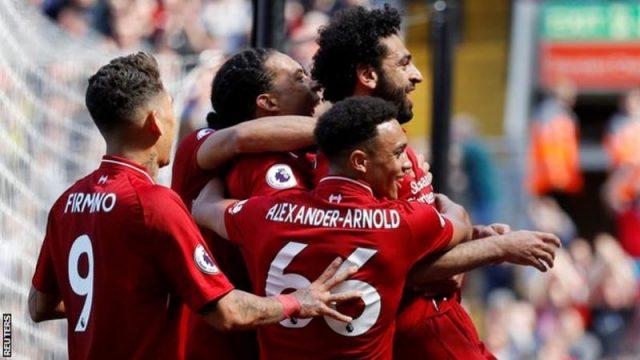 Ливерпул обезбеди пласман во Лигата на шампионите, рекорд на Салах