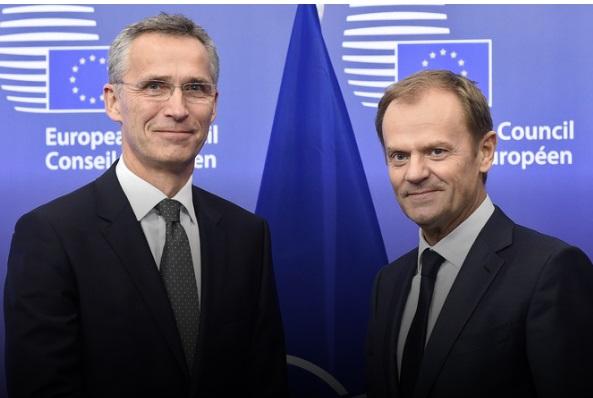 Туск и Столтенберг го поздравија договорот меѓу Скопје и Атина