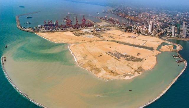 Кинезите градат нов Дубаи во Шри Ланка