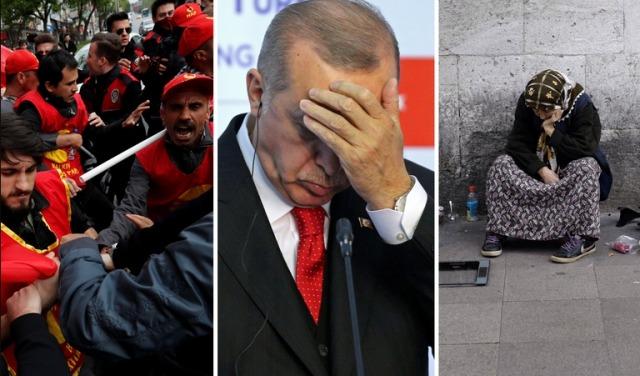 Турција тоне во економска криза, можна и рецесија