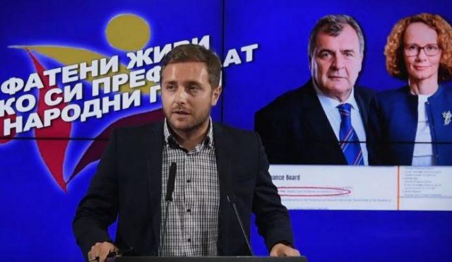 Арсовски: Молкот на Шекеринска и нервозата кај Шапуриќ покажуваат дека се фатени живи како си префрлаат народни пари