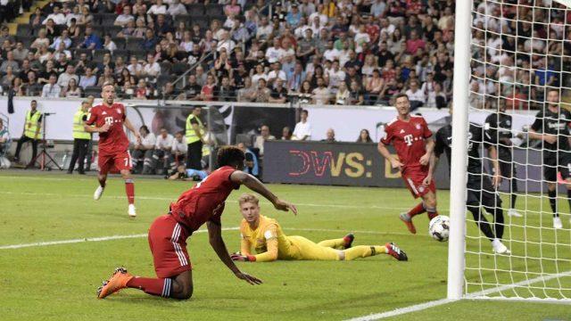 Баерн го демолираше Ајнтрахт и го освои германскиот Суперкуп