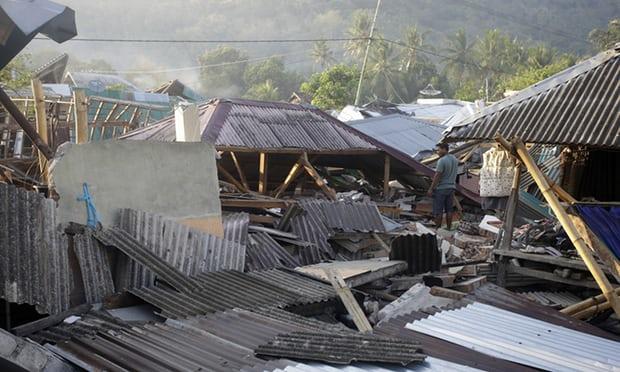 Нов силен земјотрес го погоди индонезискиот остров Ломбок