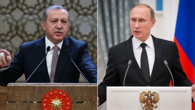"""""""Јени шафак"""": Русија игра многу опасна игра на границата со Турција"""