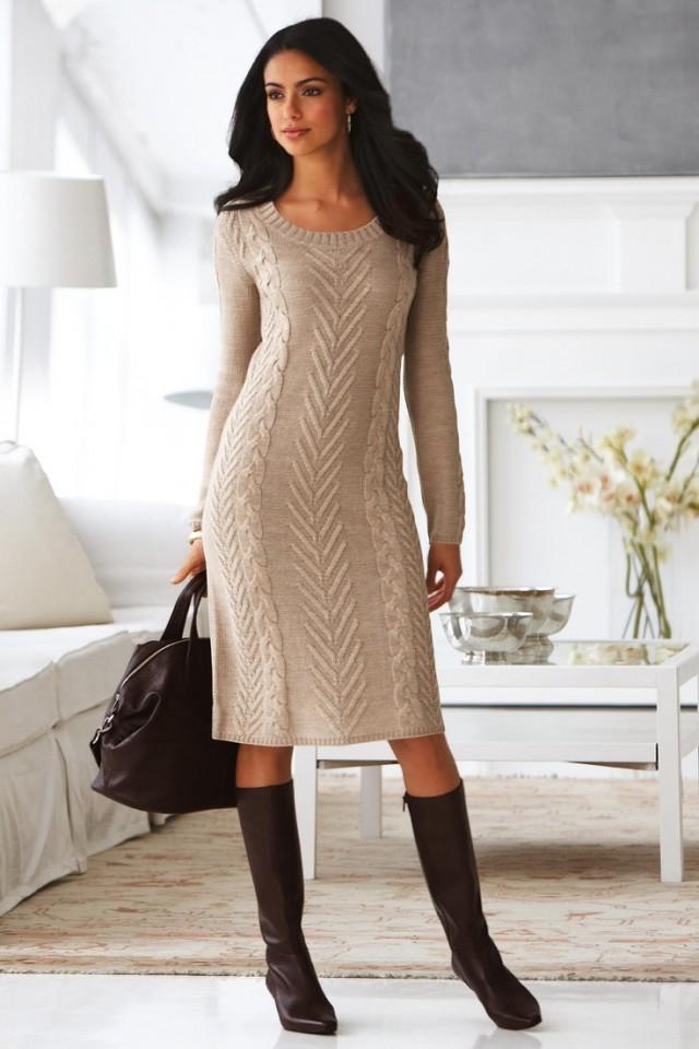 Моден хит за оваа пролет: Плетени фустанчиња | NetPress