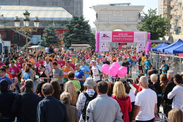 Над 8.000 учесници на Скопскиот маратон