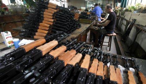 Германија е трет најголем извозник на оружје во светот