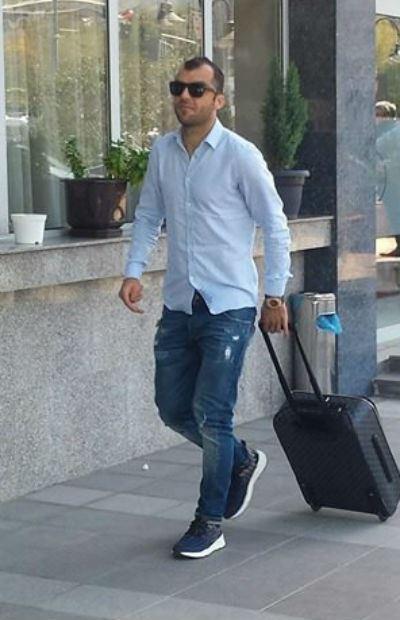 Пандев пристигна во Скопје пред натпреварите со Израел и Италија