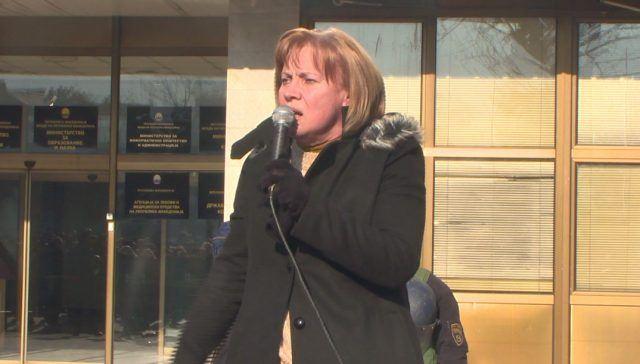 Јакимовска: Правдата е на страната на граѓаните!