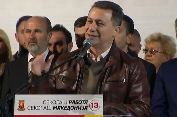 Груевски од Велес: На 15 октомври е почетокот на новата ера