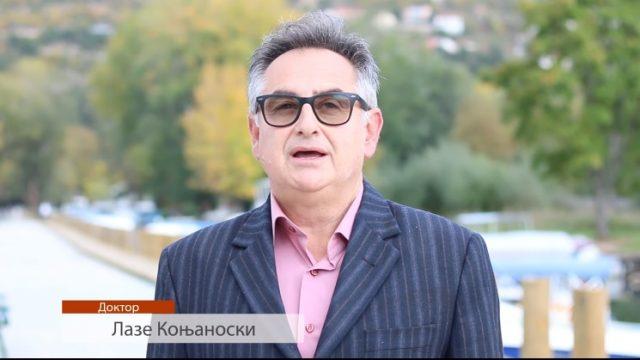 Коњановски: Тилевски е човек од збор што ги знае проблемите на Охрид  (ВИДЕО)