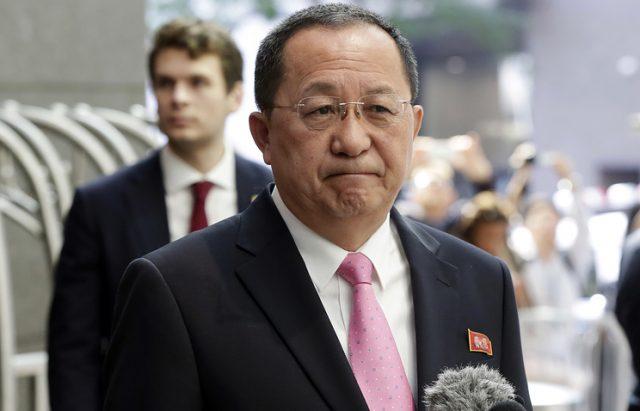 """Пјонгјанг го обвини Трамп дека ја """"запалил искрата на војната"""" и се заканува со """"огнен град"""""""