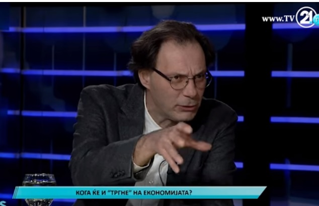 Узунов ги призна лошите економски политики: Растот на БДП ќе биде под  1 отсто