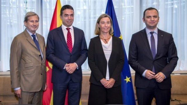 Димитров и Османи во дводневна посета во Брисел