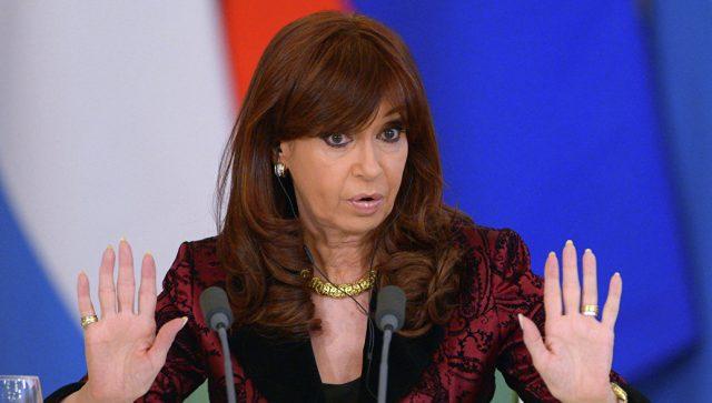 Поранешната претседателка на Аргентина обвинета за предавство