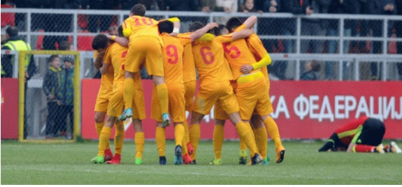 Македонија во група со Англија во квалификациите за ЕП У-19