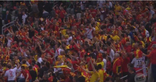 Како ЕХФ ја виде големата победа на Македонија против Словенија (ВИДЕО)