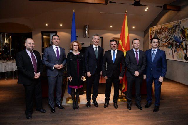 Генералниот секретар на НАТО ќе има обраќање пред македонските пратеници