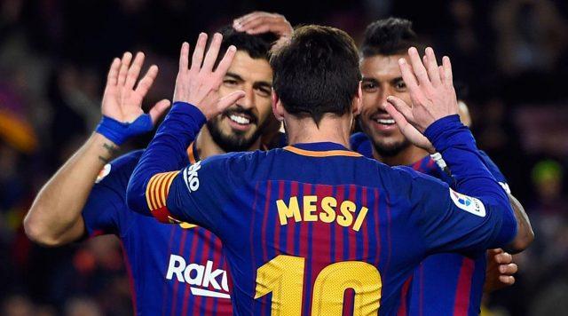 Барселона убедлива со Селта за четвртфиналето во купот