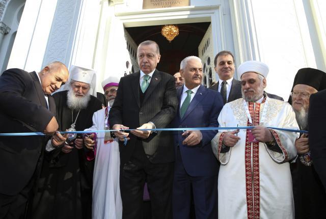 """Борисов и Ердоган ја отворија """"Железната црква"""" во Истанбул"""
