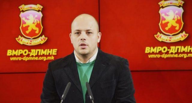 Костовски: Со неуставниот закон за двојазичност се деградира употребата на македонскиот јазик