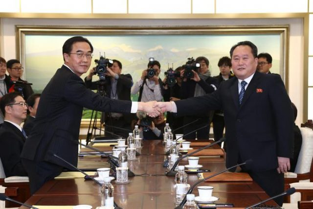 Сеул ќе разгледа привремено укинување на санкциите за Пјонгјанг поради Зимската олимпијада