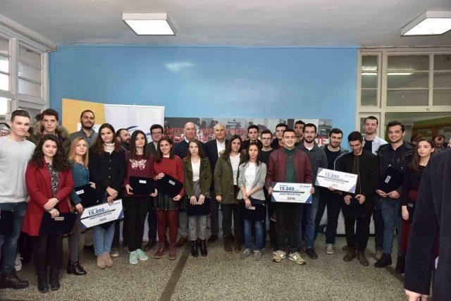 Доделени наградите за најдобрите студентски архитектонски решенија за обнова на фасадни површини на објекти во Цементарница УСЈЕ