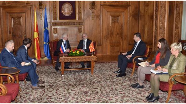 Џафери-Шчербак: Односите меѓу Македонија и Русија по нагорна линија