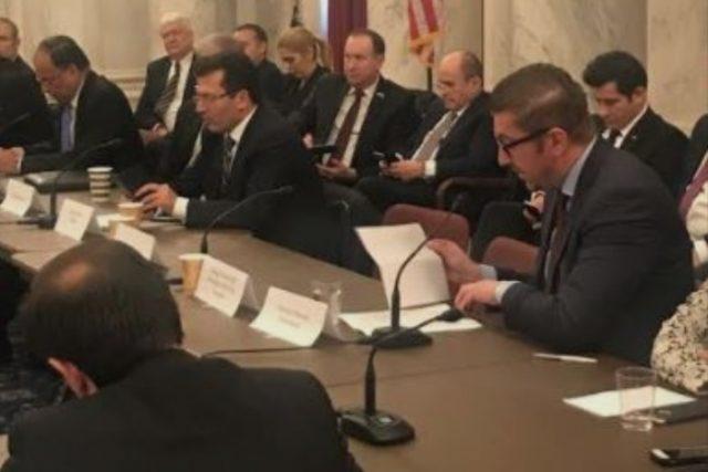 Мицкоски во Вашингтон: Приоритети се членство во НАТО, ЕУ и стратешкото сојузништво со САД
