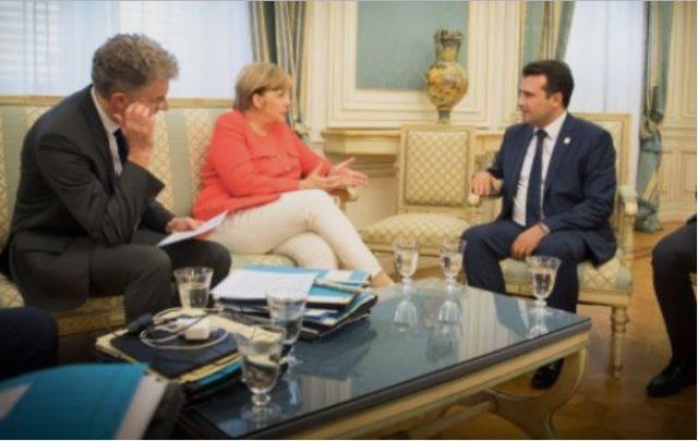Средба Заев-Меркел на 21-ви февруари