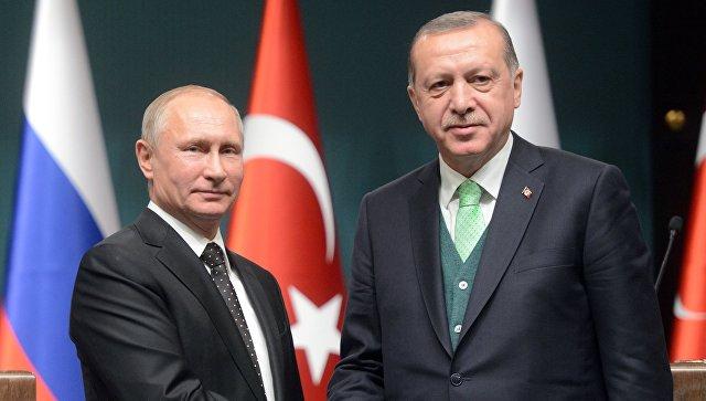 Ердоган и Путин договорија турско-руски-ирански самит во Истанбул