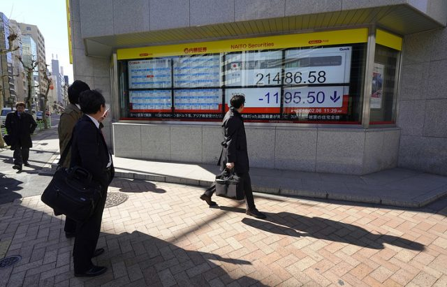 Азиските берзи го следеа потопот на Волстрит, индексот Nikkei падна за речиси 5 отсто