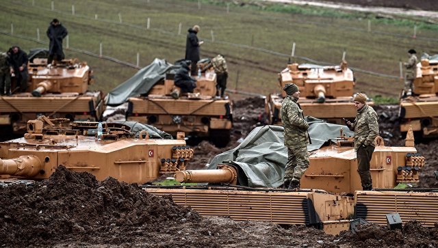 (ФОТО и ВИДЕО) Курдите објавија снимка од уништувањето на турскиот тенк кај Африн