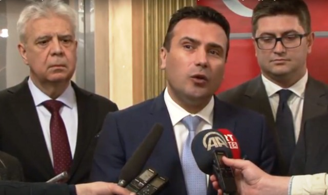 (Видео) Заев го прекрсти турскиот премиер