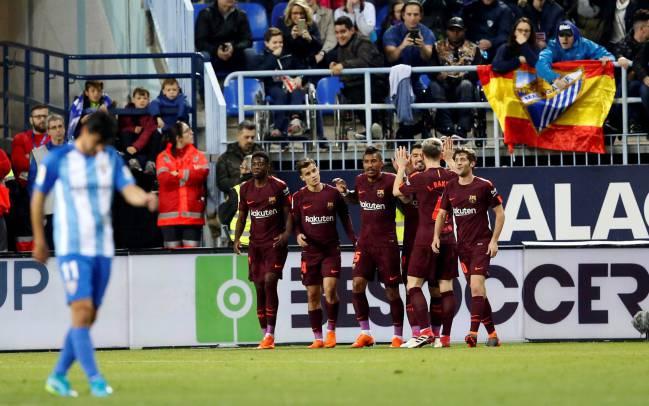 Барсa без Меси и Иниеста пресилна за Малага, Роналдо ми донесе победа на Реал