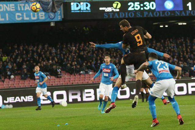 Домашен пораз на Наполи во дербито со Рома, Јуве се доближи на бод
