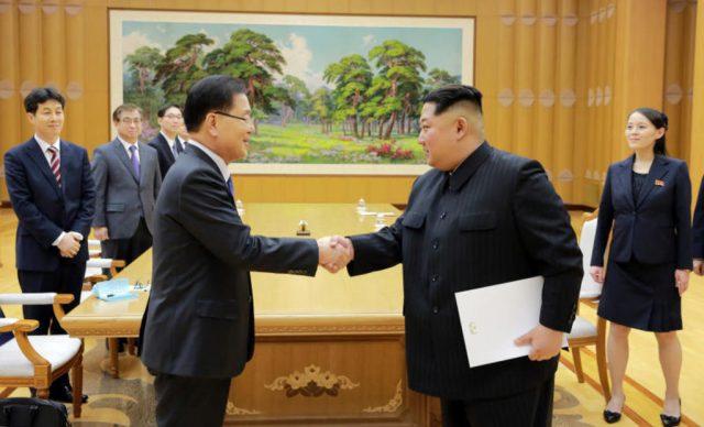 """(ВИДЕО) Ким """"нова историја"""" на националното обединување"""
