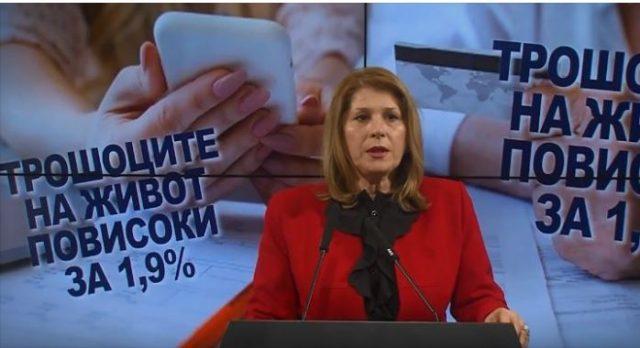 Кузмановска: Катастрофалните економски политики на СДСМ влијаат на животот на граѓаните