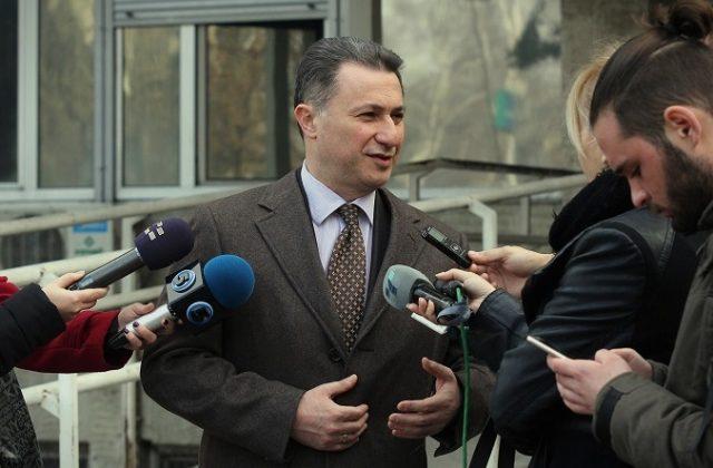 """Груевски за """"Траекторија"""": Не сфаќам за што сум обвинет"""